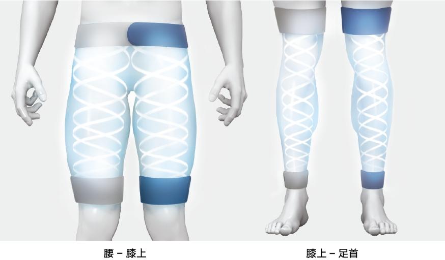 pulseケア 日常生活動作で最も重要な《下肢全体》を運動